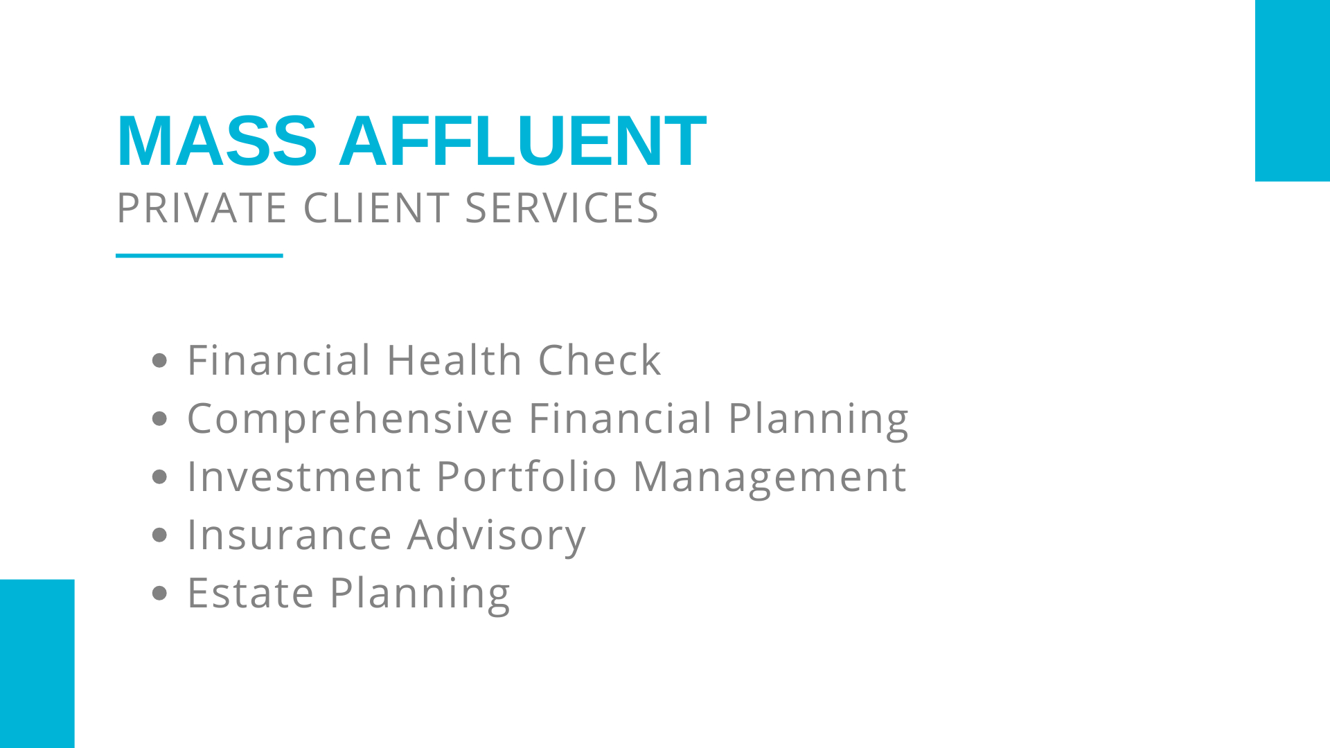 Private Client Services