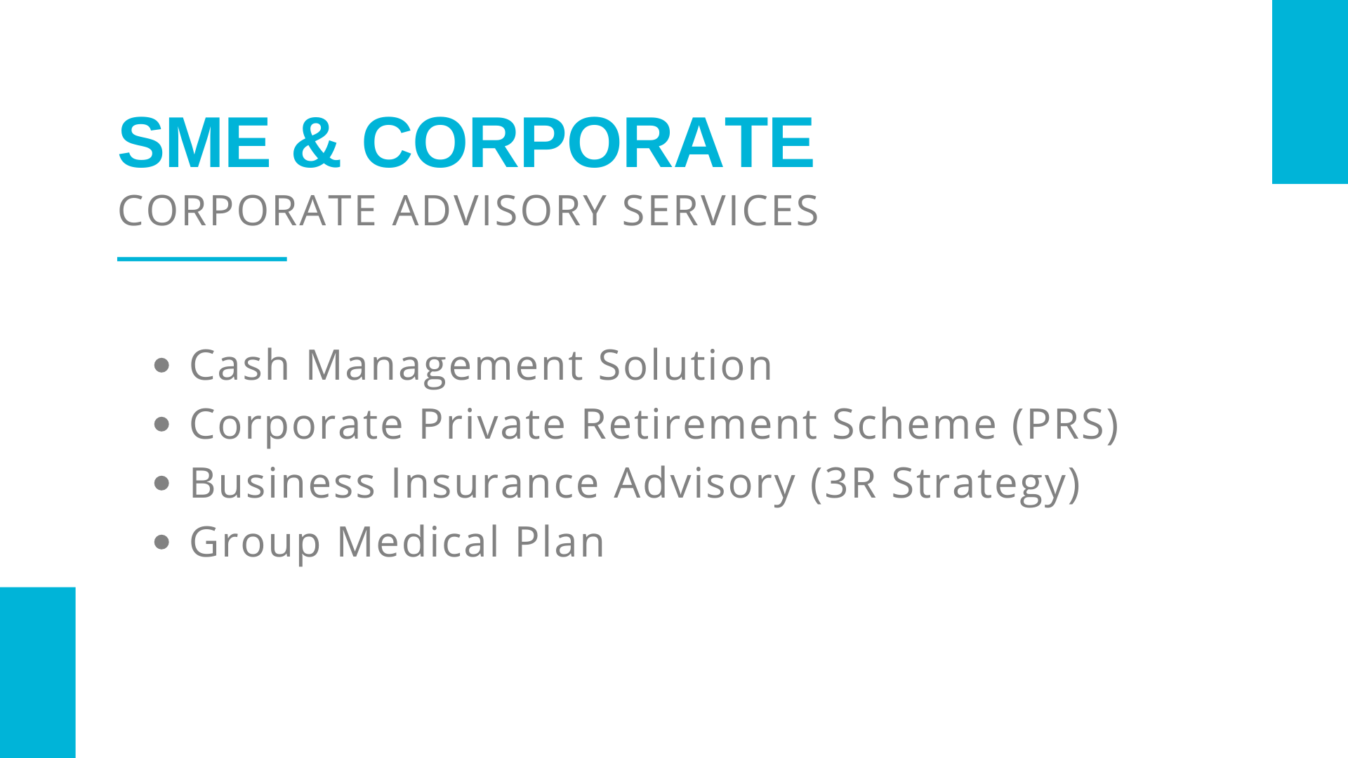 Corporate Advisory Services